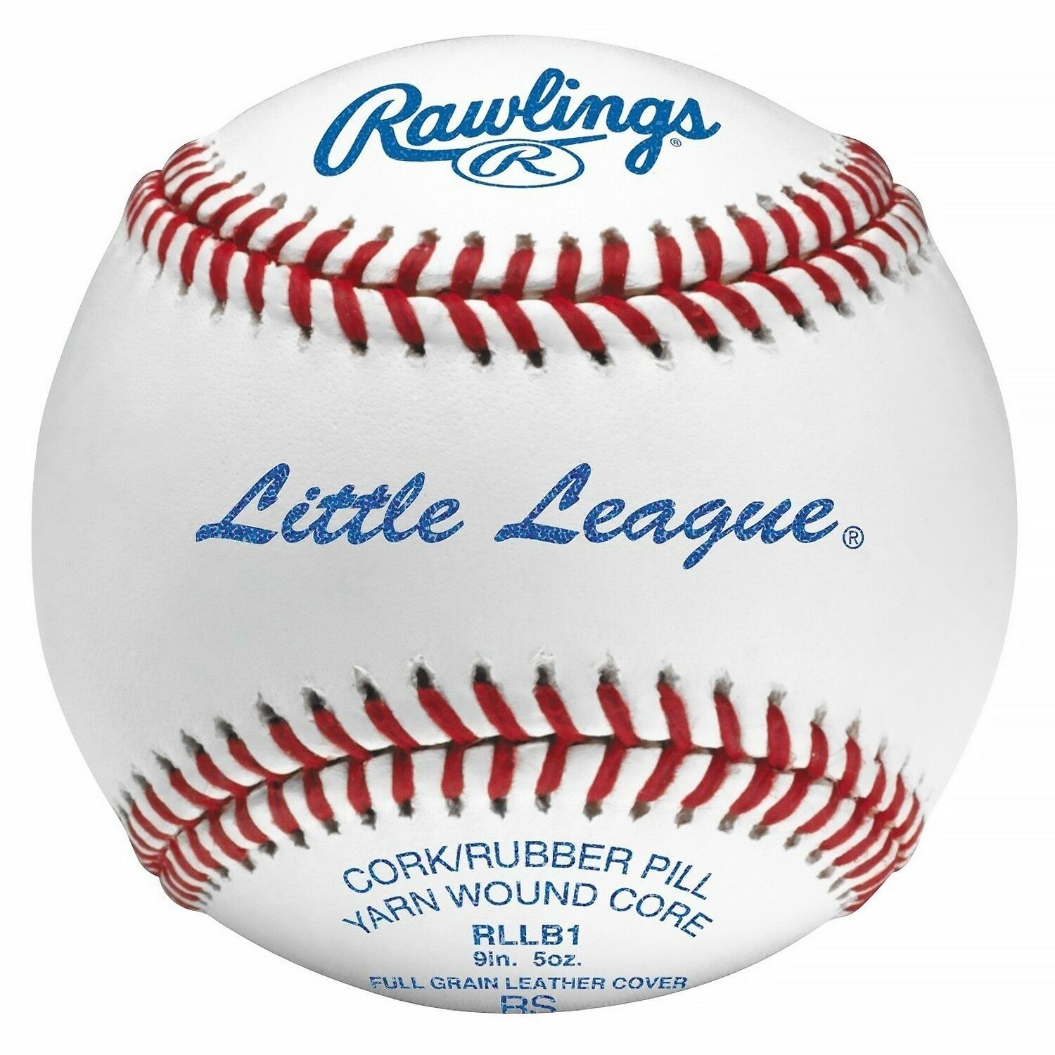 Little League Competition Grade Baseball Leather Official Game Ball Dozen White
