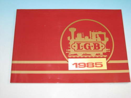 LGB Katalog 1985 inkl Neuheiten 1985