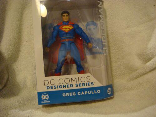 DC Comics Superman Designer Series by Greg Capullo Action Figure Collection