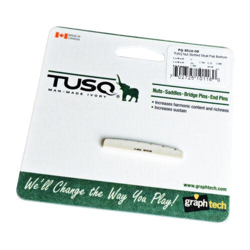Telecaster etc.. GraphTech PQ5010 TUSQ Nut Flat Bottom for Stratocaster