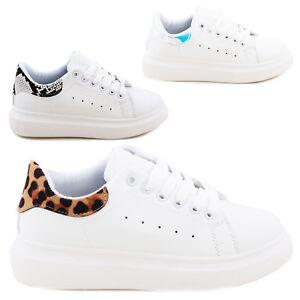 À Femme Baskets Python De Sexy Jr1207 Lacets Léopard Chaussures Sport Casual OYwqHwPx4S