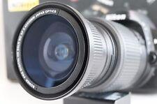 Wide Angle Macro Fisheye lens for Nikon Digital AF-S DX D7100 D7000 & 18-55mm d