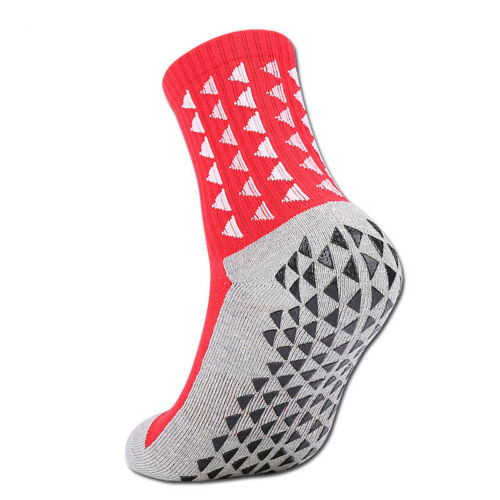 Non-slip Socks Running Cycling Football Sport Gym Mens Womens Anti-sweat Socks