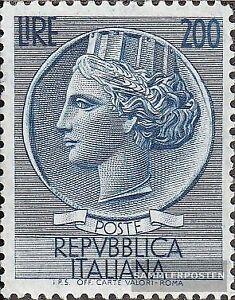 Italien-980-kompl-Ausg-postfrisch-1957-Freimarke