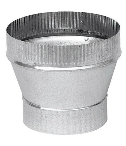 "x 6/"" Dia Galvanized Steel Stove Pipe Increaser GV1358 New Imperial Mfg 5/"" Dia"