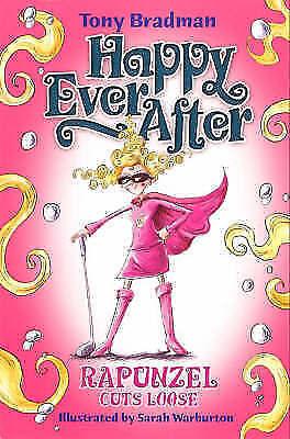 """AS NEW"" Bradman, Tony, Rapunzel Cuts (Happy Ever After) Book"