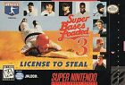 Super Bases Loaded 3: License to Steal (Super Nintendo Entertainment System, 1995)