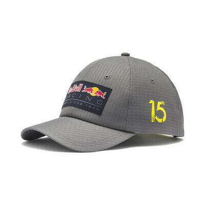 Red Bull Racing Team Puma Formula One F1 Cap New Block Snapback Adult Gray  Black | eBay