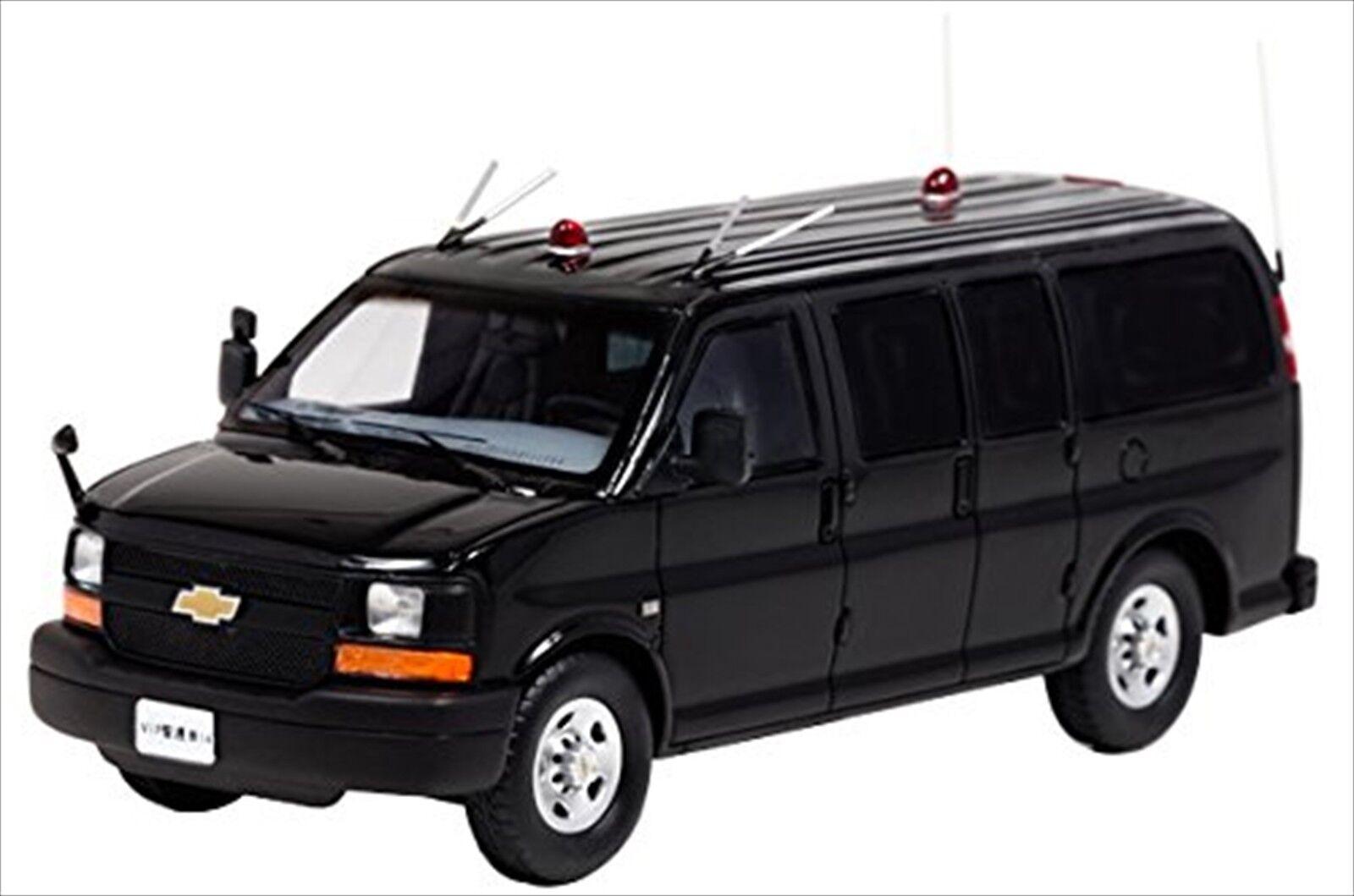 RAI'S 1 43 Chevrolet Express ls3500 2008 Japan Police Guard Vehicle H7430817 NEW
