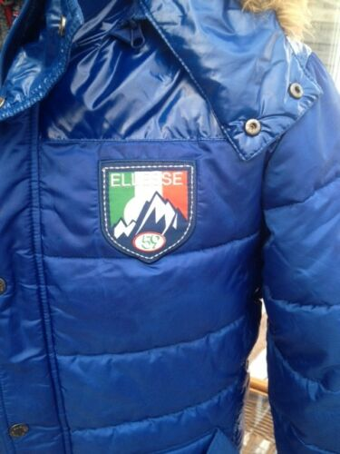 cappuccio Parka in Super Great taglia con pelliccia Trendy Elesse Mens Designer Condition L qwIzER