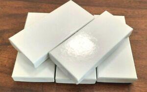 Lot de 5 boîtes blanches cartonnées neuves pour grand ordre