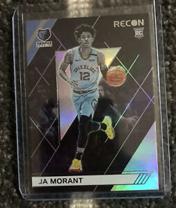 2019-20-Panini-Chronicles-SP-RC-Ja-Morant-RECON-Rookie-Card-Foil-ROY-Grizzlies