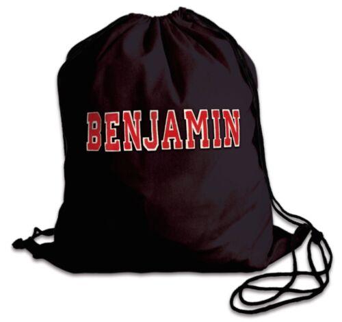 School Drawstring Premium Cotton Book Bag Sport Gymsac Swim PE Backpack