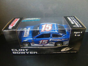 Clint Bowyer 2015 Maxwell House #15 MWR Camry 1/64 NASCAR