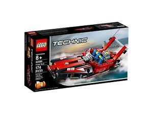LEGO-TECHNIC-42089-Rennboot-NEU-OVP
