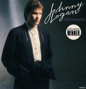 JOHNNY-LOGAN-Hold-Me-Now-EUROVISION-WINNER-Ireland-1987-Near-NEW-45rpm
