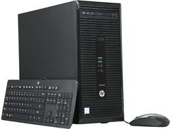HP ProDesk 400 G3 Desktop with Intel Core i3-6100 / 4GB / 500GB / Win 10 Pro
