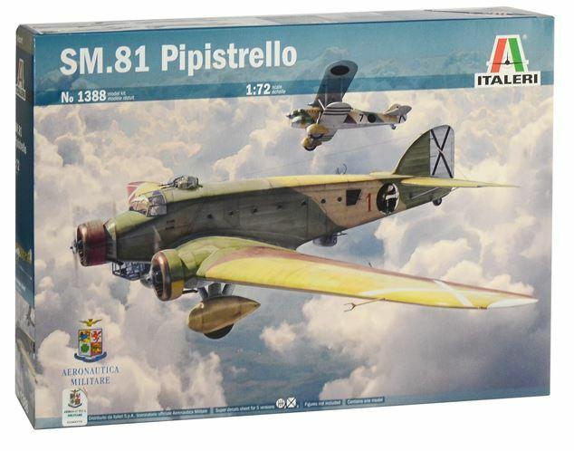 Italienari 1  72 Savoia -Marcetti SM.81 Pipistrello
