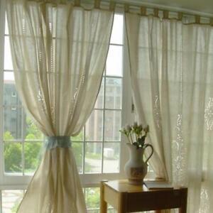 70x100-034-Country-Style-Hand-Crochet-Cotton-Linen-Curtain-Window-Blackout-Drape