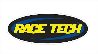 Race Tech Cool Vinyl Motorcycle Car Window Bumper Truck