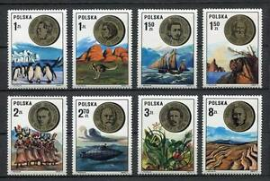35861) Poland 1973 MNH Polish Scientists 8v. Scott #2002/09