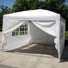 pop up wedding party tent folding gazebo canopy w sides - 10x20 Pop Up Canopy