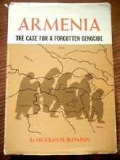 ARMENIA: Case for Forgotten Genocide- Boyajian Boyadjian Armenian Turkey Turkish