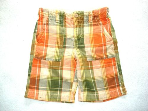 GAP KIDS Boys Blue SCORPION Brown PLAID CHECK Solid Red Black SHORTS 6-7 8-10