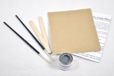 Microwave Touch Up Paint Kit Grey Mwo