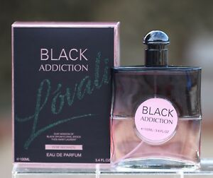 Black Addiction Women Eau De Parfum Perfume 34 Oz Lovali Fragrances