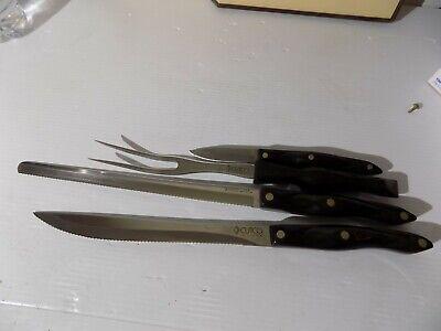 Vintage 1970s Cutco Knives Set Of 4 W Kitchen Wall Mount