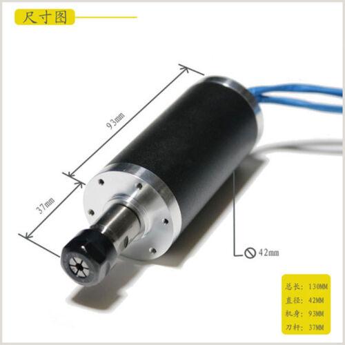 250w ER11 12000rpm BLDC spindle motor/&MACH3 Driver/&bracket CNC kits
