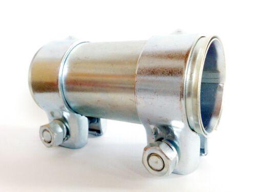 4 Stück Universal Auspuff Rohrverbinder Doppelschelle  Ø 56 x 125 mm  R65605