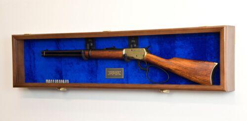 1 Single Rifle Gun Shotgun Display Case Cabinet Wall Rack Replica Civil War
