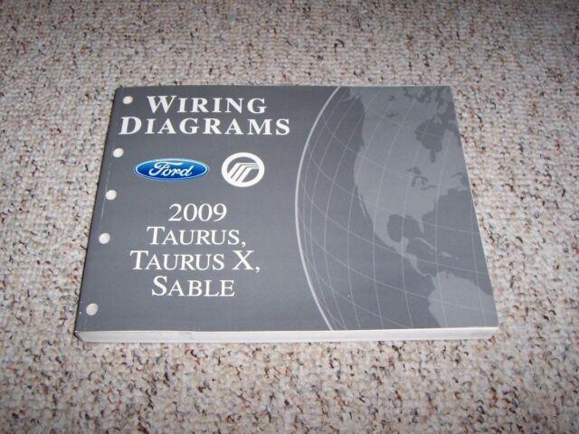 2009 Ford Taurus X Electrical Wiring Diagram Manual Sel Eddie Bauer Limited 3 5l
