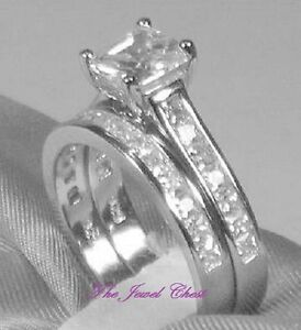 Image Is Loading 2 60 Ct Princess Cut Piece Engagement