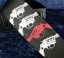 REBEL GUITAR STRAP GUNS - .357 MAGNUM - YOU FEEL LUCKY PUNK