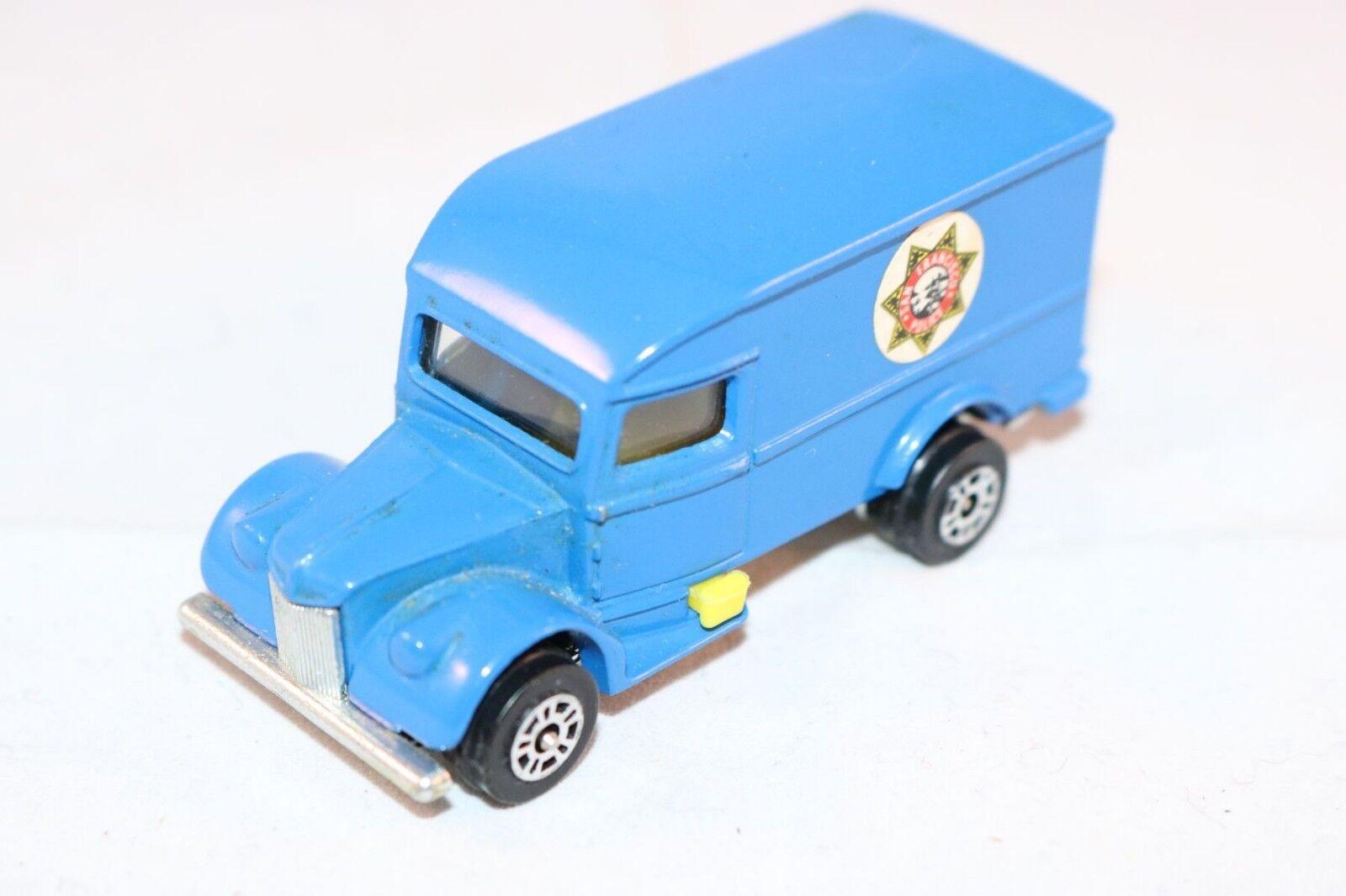 Corgi JUNIORS - 1007 Ironside - azul perfect mint original condition