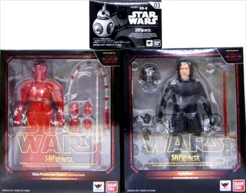S.H Figuarts Kylo Ren Elite Praetorian Guard Heavy Blade w// BB-8 Set