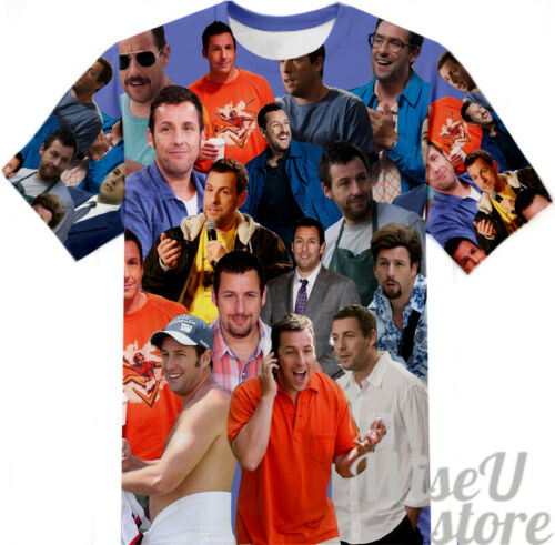 Adam Sandler T-shirt Collage Photo Chemise 3D