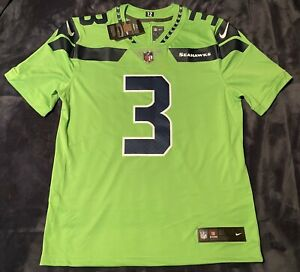 Details about Russell Wilson Color Rush Vapor Limited Neon Green Seahawks AUTHENTIC Jersey