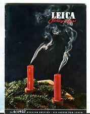 Leica Fotografie Magazine English Ed. No. 6 1957Jochen Jaschke VG 032417lej
