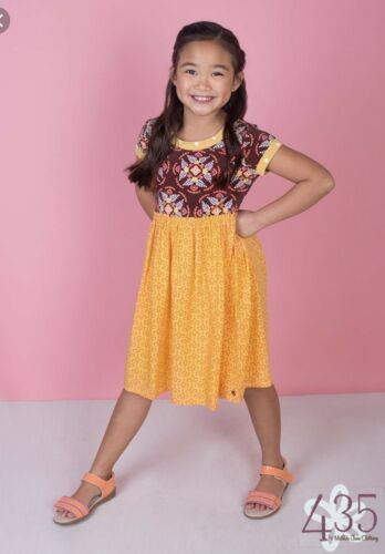NWT Matilda Jane SWEET SCENTED Dress 12 Floral Brown Girl/'s Happy /& Free 435 NWT