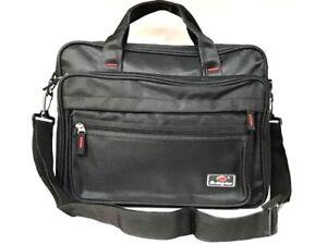Image is loading ZIPPED-Document-Laptop-Messenger-Shoulder-Bag-Briefcase -Work- 1687fb87f7