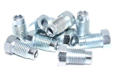 """3//8/"""" Brake Pipe Nuts Qty 10 Pack Male UNF 24 TPI Short Nut for 3//16 Copper BPN29"""