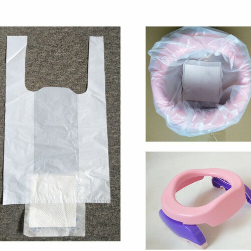 Baby Kids Toilet Training Potty Liners Bag Toilet Clean-up Bags Disposable