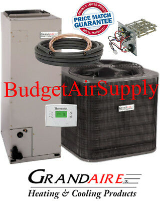 Details About 2 Ton 14 SEER HEAT PUMP ICP GRANDAIRE Model Split System 25ft LineSet