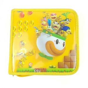 New Super Mario Bros 2 Yellow Carrying Case for Nintendo 3DS console acc & games