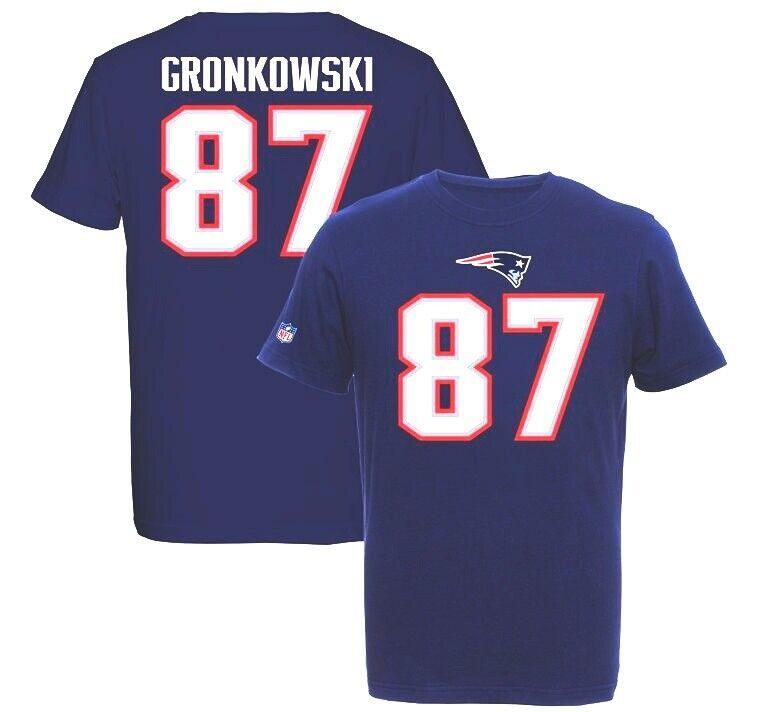 Rob Gronkowski New England Patriots Players T - Shirt Tee, NFL Football