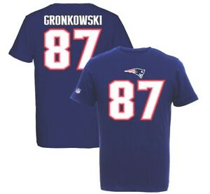 Image is loading Rob-Gronkowski-87-New-England-Patriots-Players-T- 9f54b855f9f